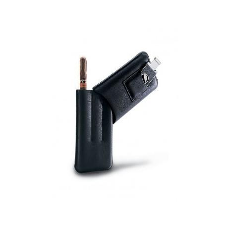 Чехол для трех сигар и гильотины Piquadro Modus Black AC948MO_N
