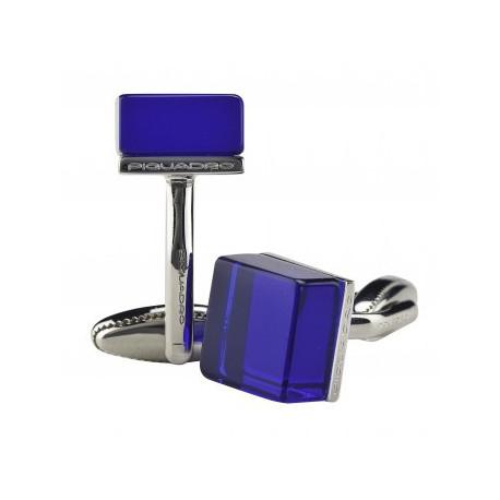 Запонки Piquadro GEMELLI/Blue Cubic Синие