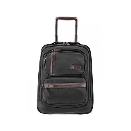 Дорожная сумка Piquadro Nimble с тележкой Черный цвет. Артикул BV2044NI/N (36x49,5x16)см