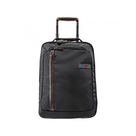 Дорожная сумка Piquadro Nimble компакт с тележкой Черный цвет. Артикул BV2507NI/N (37x52x15)см