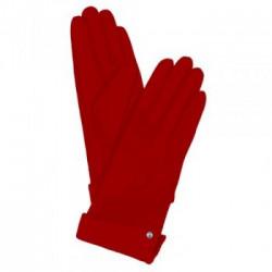 Кож.перчатки Piquadro Пиквадро Guanti 4 жен. с кнопкой красные разм.S Артикул GU2367G4/R-S