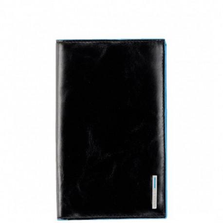 Портмоне PIQUADRO черный BL SQUARE/Black PU1665B2_N
