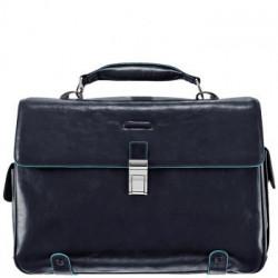 Портфель Piquadro BL SQUARE/N.Blue на 2 отдел. с отдел. д/ноутбука (44х32х12)