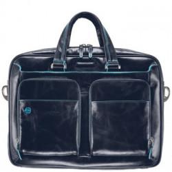 Портфель Piquadro BL SQUARE/N.Blue дворучн. с отдел. для iPad/ноутбука (39x28,5x10,5)