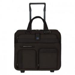 Дорожная сумка Piquadro SIGNO/D.Brown на 2 отдел. на 2 колесах (39,5x37,5x21)