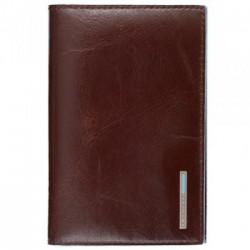 Обложка для паспорта Piquadro Blue Square/Cognac AS300B2_MO