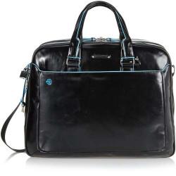Дорожная сумка PIQUADRO черный BL SQUARE/Black BV2926B2_N