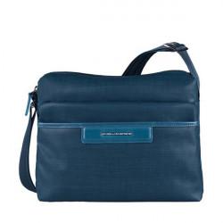 Сумка женская Piquadro AKI/Blue наплечная с чехлом д/iPad/iPad Air (30x23,5x12) BD3292AK_AV
