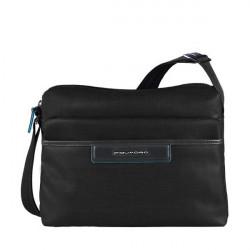 Сумка женская Piquadro AKI/Black наплечная с чехлом д/iPad/iPad Air (30x23,5x12) BD3292AK_N