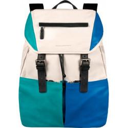 Рюкзак Piquadro Tetraktys Blue-White CA3333SO4_BLBI