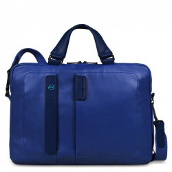 Портфель Piquadro дворучн. с отдел. для ноутбука/iPad/iPad Air/iPad mini PULSE/Blue CA1903P15_BLU