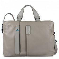 Портфель Piquadro дворучн. с отдел. для ноутбука/iPad/iPad Air/iPad mini PULSE/Grey CA1903P15_GR