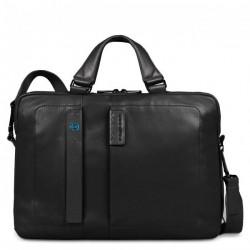 Портфель Piquadro дворучн. с отдел. для ноутбука/iPad/iPad Air/iPad mini PULSE/Black CA1903P15_N