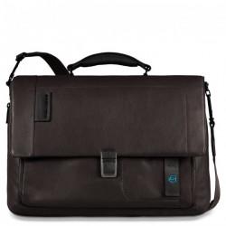 Портфель Piquadro с отдел. д/ноутбука/iPad/iPad Air/iPad mini со сьемным ремнем PULSE/Brown CA3111P15_M