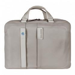 Портфель Piquadro двуручн. с отдел. для ноутбука 15,6/iPad Air/Air2 PULSE/Grey CA3347P15_GR