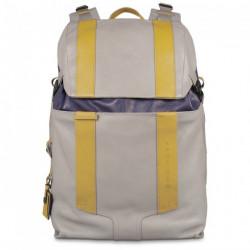 Рюкзак Piquadro с отдел. д/ноутбука/iPad/iPad Air и чехлом от дождя WASSILY/Grey-Blue CA3343WA_GRB
