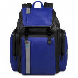 Рюкзак Piquadro с отдел. для ноутбука 13/iPad/iPad Air/iPad mini PULSE/Black-Blue CA3351P15_NB
