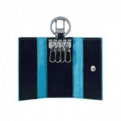 Ключница Piquadro на 4 ключа BL SQUARE/N.Blue PC1253B2_BLU2
