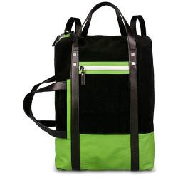 Рюкзак PIQUADRO черный ETA/Black-Green CA3443WO11_N2