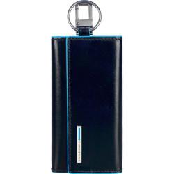 Ключница PIQUADRO синий BL SQUARE/N.Blue PC1397B2_BLU2