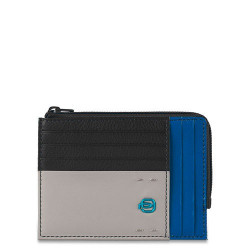 Кредитница PIQUADRO черный PULSE/Black-Blue PU1243P15_NB