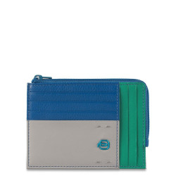 Кредитница PIQUADRO синий PULSE/Blue-Green PU1243P15_BLVE