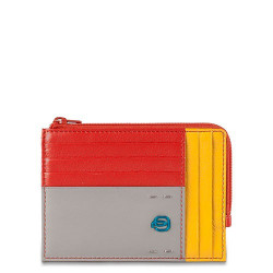 Кредитница PIQUADRO красный PULSE/Red-Yellow PU1243P15_RG