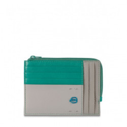Кредитница PIQUADRO зелёный PULSE/Green-Gray PU1243P15_VGR