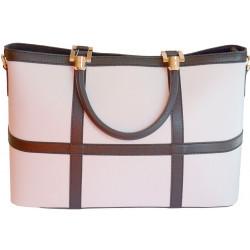 Женская сумка Arcadia LOTO/White-Black Ab6208_BIN