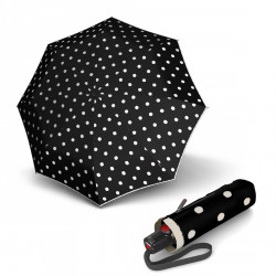 Складной зонт Knirps T.100 Small Duomatic Dot Art Black Kn9531004901