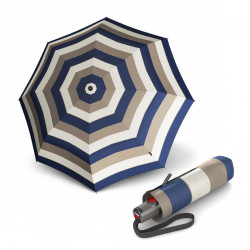 Складной зонт Knirps T.100 Small Duomatic Stripe Blue Kn9531004906