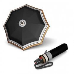 Складной зонт Knirps T.200 Medium Duomatic Border Black Kn9532004944