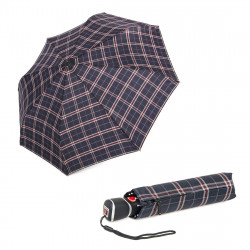 Складной зонт Knirps T3 Duomatic Check Navy Kn89885599