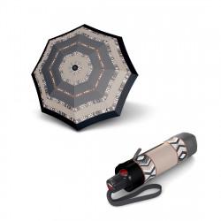 Складной зонт Knirps T.100 Small Duomatic Kenia Sand UV Protection Kn9531008182
