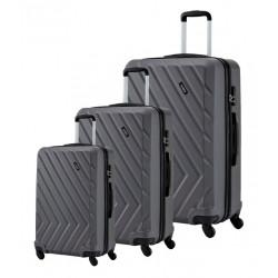 Набор чемоданов на 4 колесах Travelite Quick TL072840-04