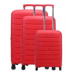 Набор чемоданов на 4 колесах Titan Limit Ti823102-10