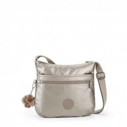 Женская сумка Kipling ARTO/Metallic Pewter K10878_L34