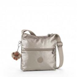 Женская сумка Kipling ZAMOR/Metallic Pewter K12483_L34