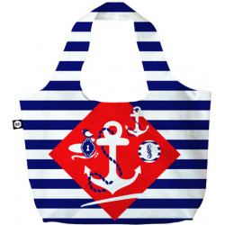 Сумка BG Berlin Eco Bag Navy Sense дворучн. (50x65см) Bg001-01-113