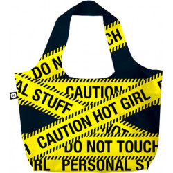 Сумка BG Berlin Eco Bag Caution дворучн. (50x65см) Bg001-01-129