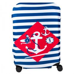 Чехол для чемоданов BG Berlin Hug Cover Navy Sense 67-73см L Bg002-02-113-L