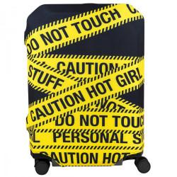 Чехол для чемоданов BG Berlin Hug Cover Caution 57-62см M Bg002-02-129-M