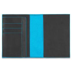 Обложка для паспорта Piquadro Blue Square (B2) PP1660B2_GR
