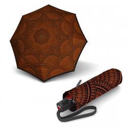 Зонт складной Knirps T.100 Small Duomatic Marrakech Fire Kn9531008047