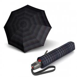 Зонт складной Knirps T.200 Medium Duomatic Check Black Kn9532005290