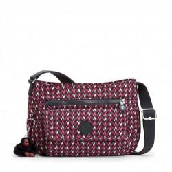 Женская сумка Kipling SYRO/Pink Chevron  K13163_K05