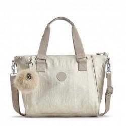 Женская сумка Kipling AMIEL/Silver Beige  K16616_02R