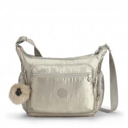 Женская сумка Kipling GABBIE/Silver Beige K22621_02R