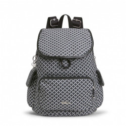 Рюкзак Kipling CITY PACK S/Retro Geo Black  K00085_40G