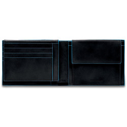 Портмоне Piquadro Blue Square/Black PU1392B2R_N